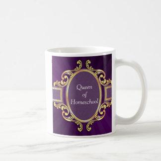 Homeschool queen mom mug