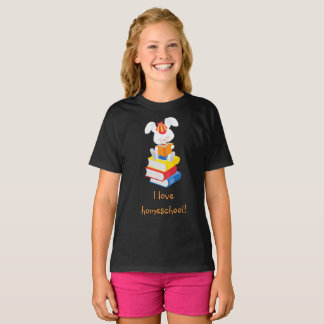 Homeschool Rabbit T-Shirt
