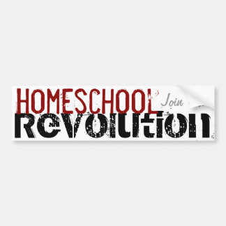 Homeschool Revolution -Join Us! bumper sticker
