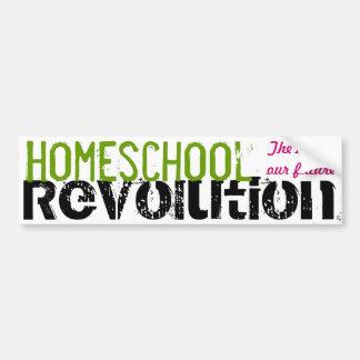 Homeschool Revolution - The key to our future Bumper Sticker