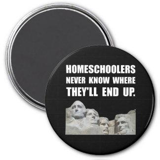 Homeschool Rushmore 7.5 Cm Round Magnet