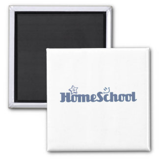 HomeSchool Square Magnet
