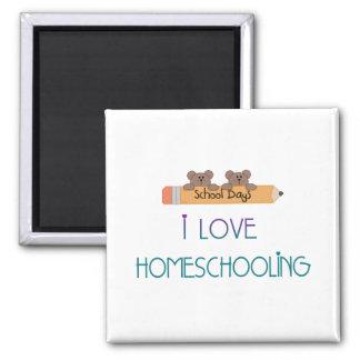 HomeSchool Teacher Square Magnet