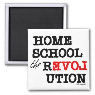Homeschool the REVOLution Fridge Magnets