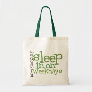 Homeschool tote bag: Sleep in