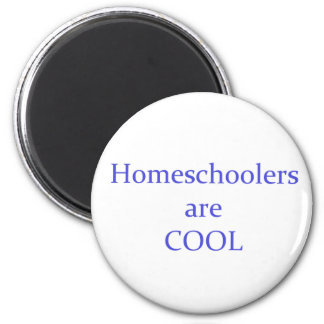 Homeschoolers are Cool 6 Cm Round Magnet