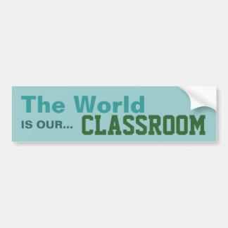 Homeschoolers - Classroom Sticker Bumper Sticker