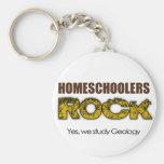 Homeschoolers Rock Keychains