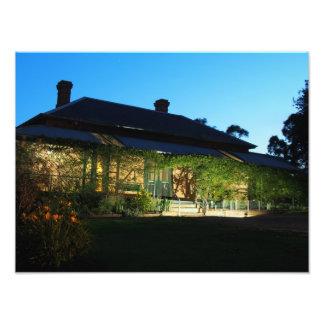 Homestead at Twilight Photo Print