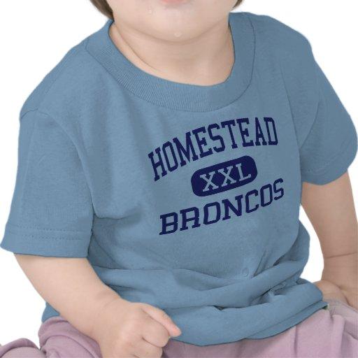 Homestead - Broncos - High - Homestead Florida Tshirt