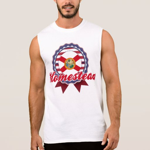 Homestead, FL Sleeveless T-shirts
