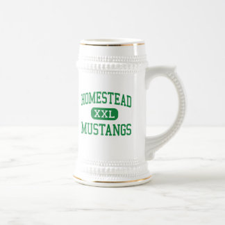Homestead - Mustangs - High - Cupertino California Beer Steins