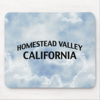 Homestead Valley California Mouse Pad