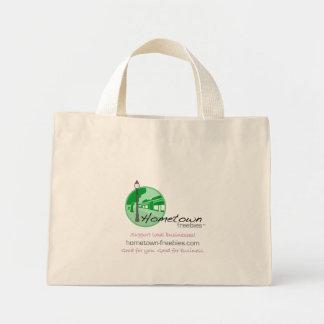 Hometown Freebies™ Canvas Tote Mini Tote Bag