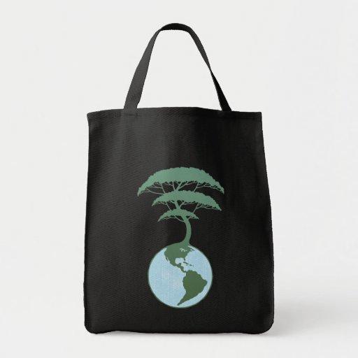 Hometree Grocery Tote Bag