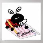 Homework and Ladybug Posters