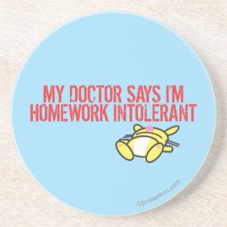 Homework Intollerant Coaster