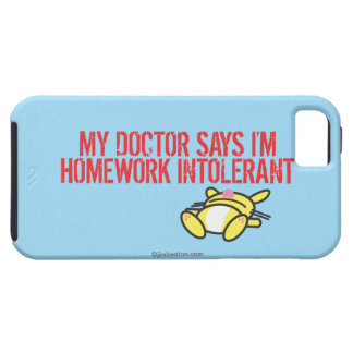 Homework Intollerant iPhone 5 Case
