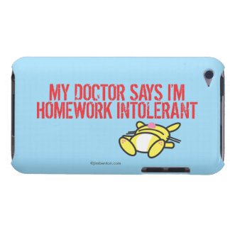 Homework Intollerant iPod Touch Case-Mate Case