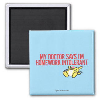 Homework Intollerant Magnet