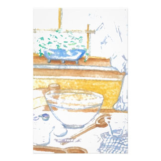 Homey Kitchen Cooking Holiday Baking Stationery