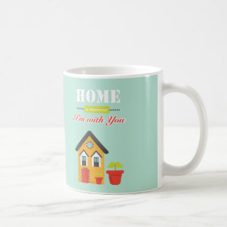 homie is more wherever, i to with you basic white mug