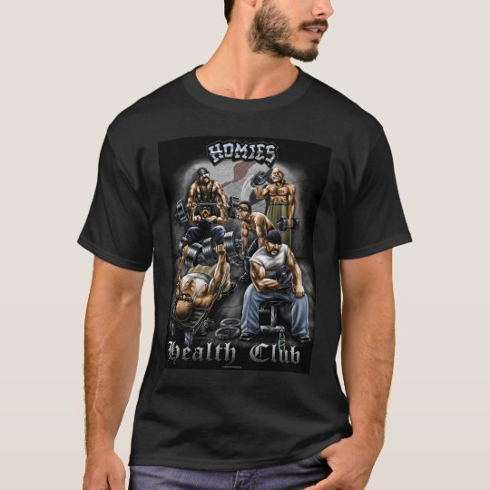 Homies Health Club Black T-Shirt