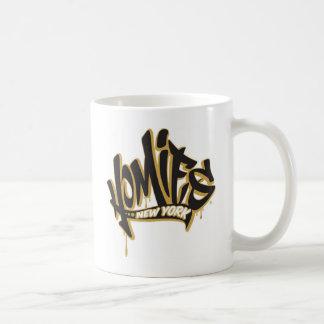 Homies New York® Basic White Mug