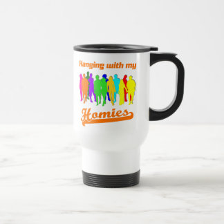 Homies Stainless Steel Travel Mug