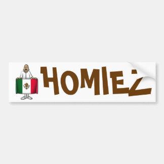 Homiez Bumper Sticker