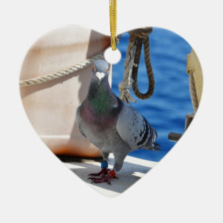 Homing Pigeon Christmas Ornament