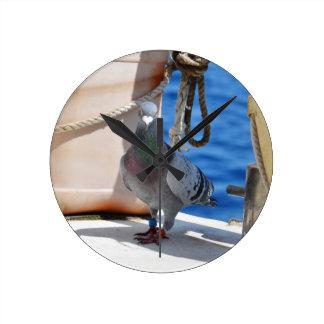 Homing Pigeon Wallclocks
