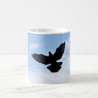 Homing Pigeon Coming Home Mug