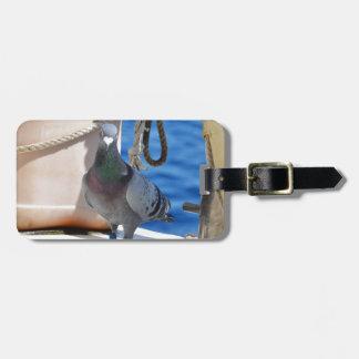 Homing Pigeon Travel Bag Tag