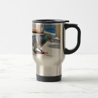 Homing Pigeon On A Yacht Travel Mug