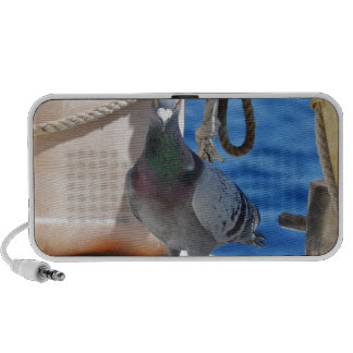 Homing Pigeon Laptop Speaker