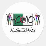 Homo Algeria Stickers