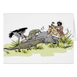 Homo Floresiensis Goes Hunting Card
