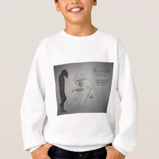 Homo-Habillis Slimsquatch with mange.JPG Sweatshirt