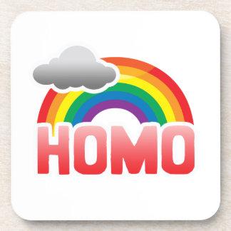 HOMO RAINBOW DRINK COASTERS