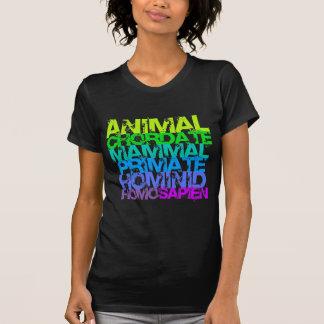 Homo sapien ladies dark T Tee Shirt