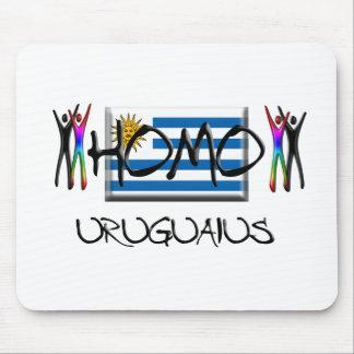 Homo Uruguay Mouse Pad