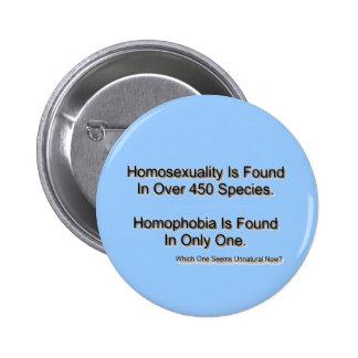 """Homophobia"" 6 Cm Round Badge"
