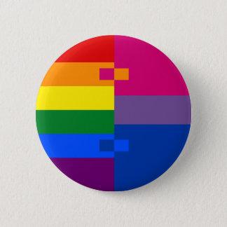 Homoromantic Bisexual Pin