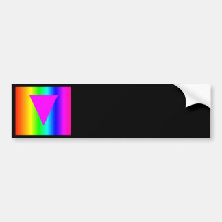 Homosexual Rainbow Bumper Sticker