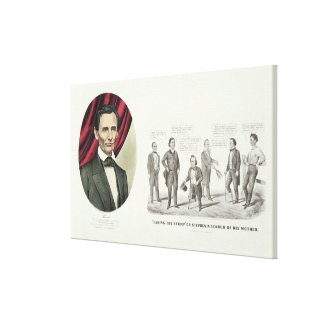 Hon. Abraham Lincoln Canvas Print