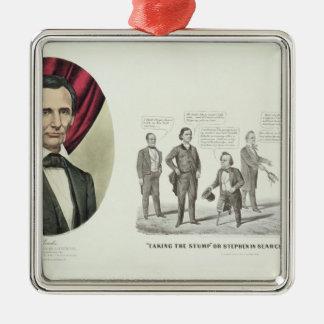 Hon. Abraham Lincoln Christmas Ornament