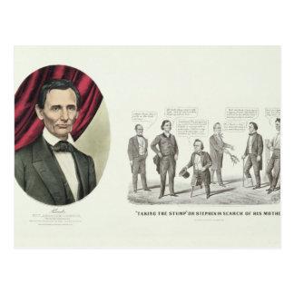 Hon. Abraham Lincoln Postcard
