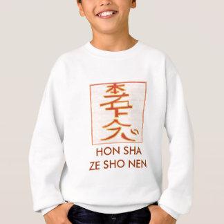 HON SHA ZE SHO NEN - Reiki distance healing Sweatshirt