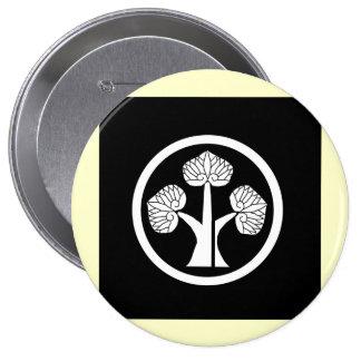 Honda mon, Japan 10 Cm Round Badge